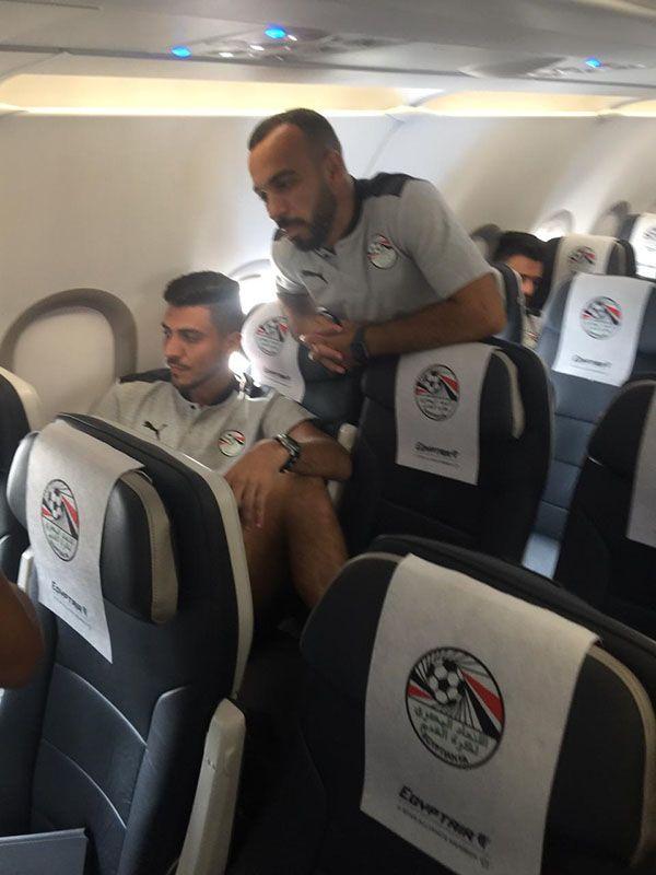 رحلة خاصة لنقل المنتخب الوطني لكرة القدم